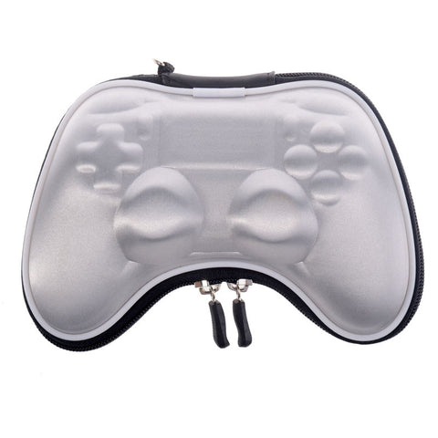 Silver Shockproof Controller Airform Carry Pouch Bag for PS4 With Strap - GC00012S