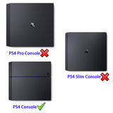 Premium Nylon Dust Guard Cover Sleeve with Soft Neat Lining for PS4 Console Precision Cut Easy Access Cable Port - GC00090B
