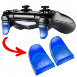 2 Pairs Blue L2 R2 Extended Trigger for PS4 Controller-GC00121E