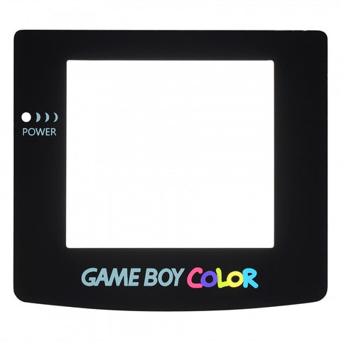 Black Glass Protective Screen Lens for Nintendo Game Boy Color - GCAJ0011GC