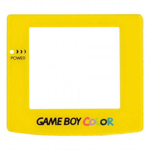 Yellow Protective Screen Lens for Nintendo Game Boy Color - GCAJ0018GC