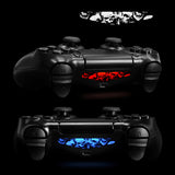 For PS4 Light Bar Affixed (30) Black and White Game Decal- GCLS0013