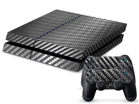 Customized Carbon Fiber Skin Sticker Replacement Parts for PS4 Playstation 4 Console Controller Decal - GCTM0160