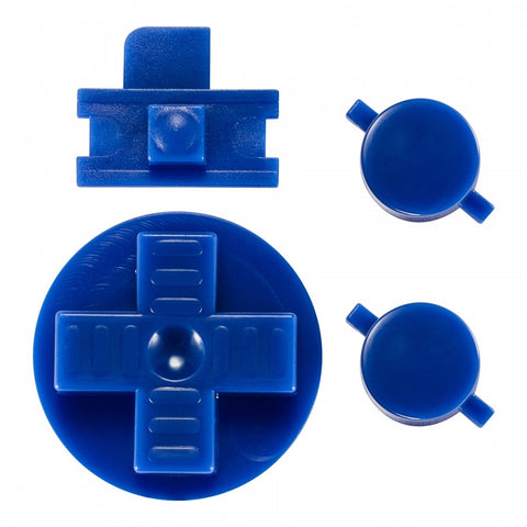Blue A B Buttons Dpad Control Complete Kit for Gameboy Classic Fat DMG-01 - GFAJ0004GC