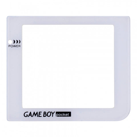 White Plastic Protective Lens Screen for Nintendo GameBoy Pocket GBP - GPAJ0009GC