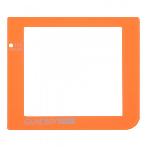 Orange Plastic Protective Lens Screen for Nintendo GameBoy Pocket GBP - GPAJ0010GC