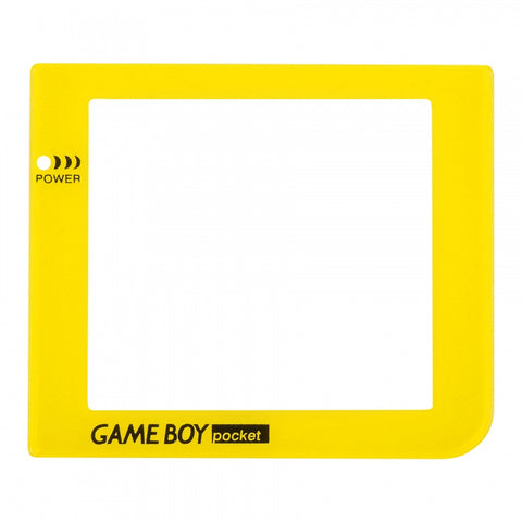 Yellow Plastic Protective Lens Screen for Nintendo GameBoy Pocket GBP - GPAJ0013GC