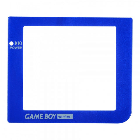 Blue Plastic Protective Lens Screen for Nintendo GameBoy Pocket GBP - GPAJ0014GC