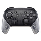 Transparent Clear Replacement Handle Grips for Nintendo Switch Pro Controller, DIY Hand Grip Shell for Nintendo Switch Pro - Controller NOT Included - GRM501