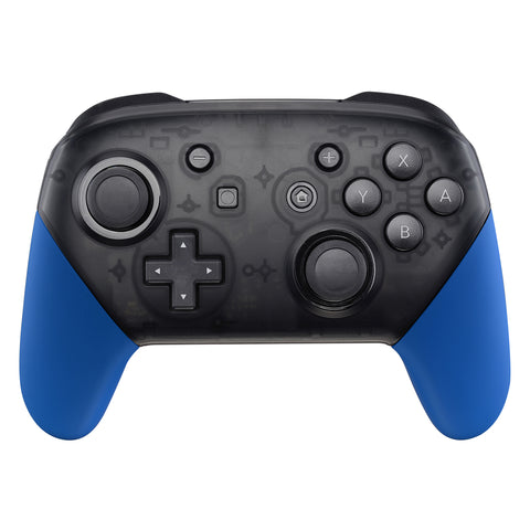 Blue Replacement Handle Grips for Nintendo Switch Pro Controller, Soft Touch DIY Hand Grip Shell for Nintendo Switch Pro - Controller NOT Included - GRP304