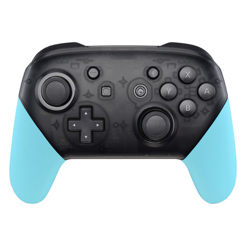 Heaven Blue Replacement Handle Grips for Nintendo Switch Pro Controller, Soft Touch DIY Hand Grip Shell for Nintendo Switch Pro - Controller NOT Included - GRP308
