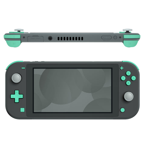 Soft Touch Mint Green Replacement ABXY Home Capture Plus Minus Keys Dpad L R ZL ZR Trigger for Nintendo Switch Lite, Full Set Buttons Repair Kits with Tools for Nintendo Switch Lite - HL514