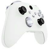 Chrome Silver Replacement Buttons for Xbox Series S & Xbox Series X Controller, LB RB LT RT Bumpers Triggers D-pad ABXY Start Back Sync Share Keys for Xbox Series X/S Controller  - JX3202