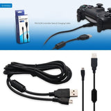 Charging Cable USB Cord for PlayStation 4 Slim Pro PS4 Dualshock 4 Controller - JYP4S0006