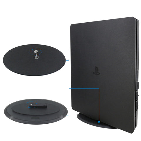 For Playstation 4 Slim PS4 Slim Gaming Console Vertical Stand Holder Mount Dock  - JYP4S0009