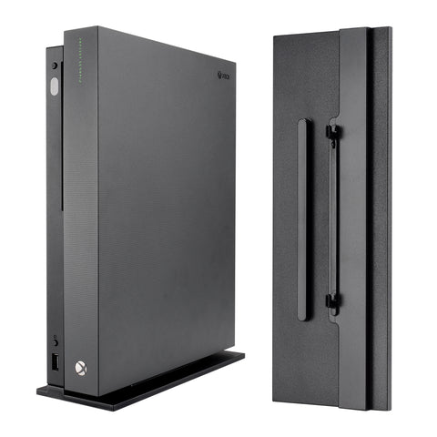 Black Vertical Console Stand for Microsoft Xbox One X - JYXBX0005GC