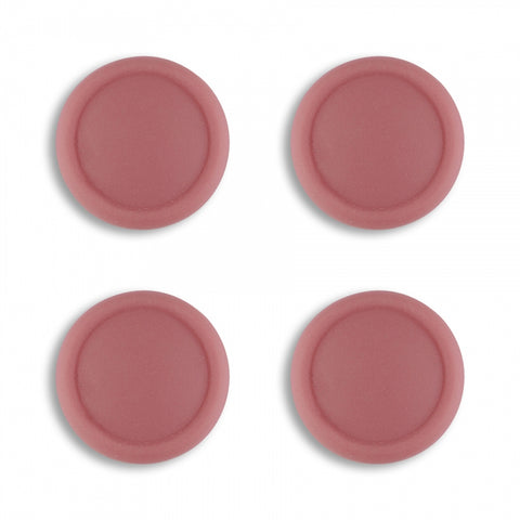 PlayVital Switch Joystick Caps, Switch Lite Thumb Stick Caps, Silicone Analog Cover Thumb Grip Rocker Caps for Nintendo Switch Joy-Con Controller & Switch Lite, 4 Pcs Indian Red - NJM1018