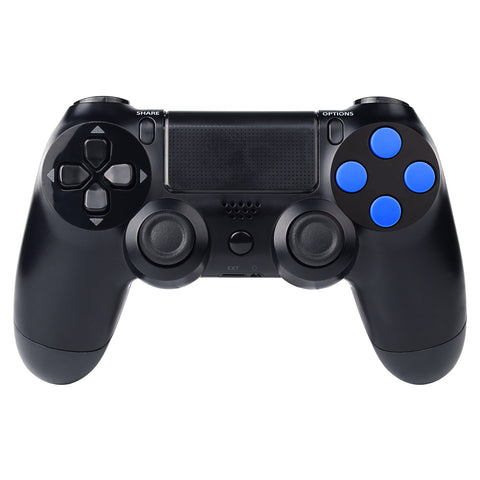Solid Blue Action Buttons Repair for Dualshock 4 PS4 Controller-P4J0207