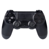 Solid Black Action Buttons Repair for Dualshock 4 PS4 Controller -P4J0209