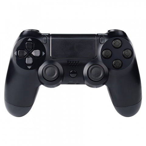 Transparent Black Action Buttons Repair for Dualshock 4 PS4 Controller-P4J0215