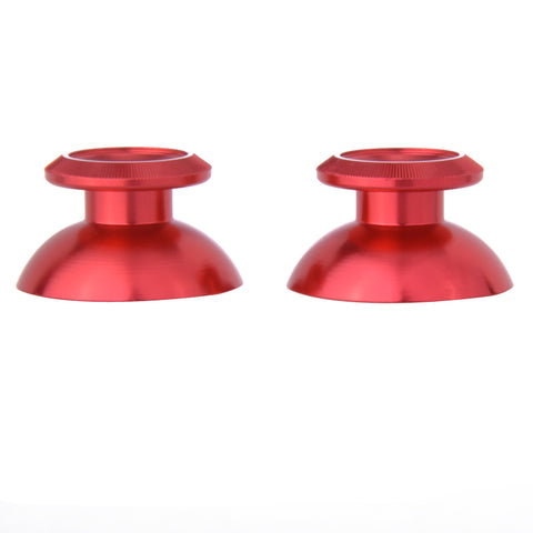 Metal Red Chrome Thumbsticks Replacement Thumb Stick For PS4 Controller For Nintendo Switch Pro Controller - P4J0303