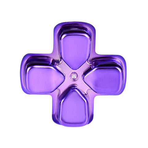 Chrome Purple Dpad Direction Pad Buttons for PS4 Controller - P4J0505