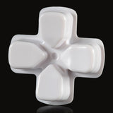 Solid White Dpad Direction Pad Buttons for PS4 Controller - P4J0515
