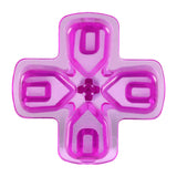 Clear Purple Dpad Direction Pad Buttons for PS4 Controller - P4J0521