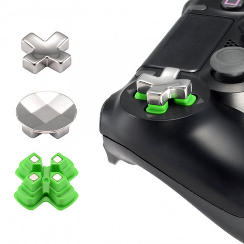 Magnetic Metal Custom Button Adjustable Dpads Replacement Parts for PS4 Pro Slim Controller (3 in 1) - P4J1001