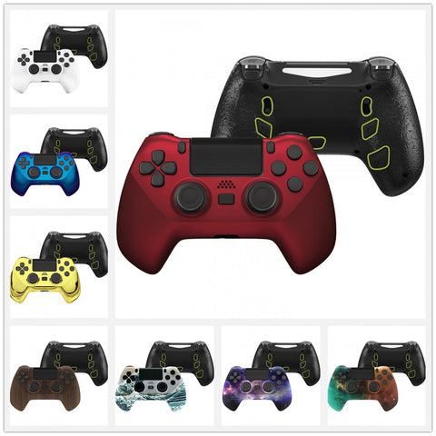 DECADE Tournament Controller (DTC) Upgrade Kit for PS4 Controller JDM-040/050/055, Upgrade Board & Ergonomic Shell & Back Buttons & Trigger Stops - Controller NOT Included - P4MG