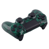 Green Death Full Shell with Buttons Custom Kits for PS4 Controller - P4S011