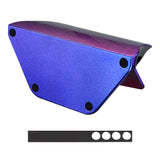 Chameleon Purple Blue Controller Display Stand for PlayStation 4, Gamepad Accessories Glossy Desk Holder for PS4 Slim PS4 Pro Controller with Rubber Pads - SP4H02