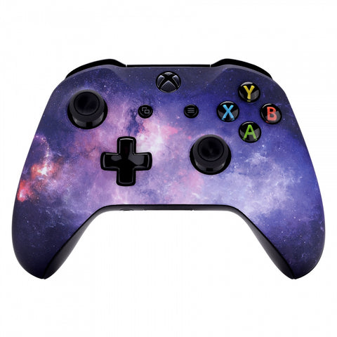 Nebula Galaxy Soft Touch Front Housing Shell for Xbox One S X Game Controller - SXOFT29X