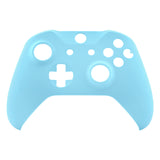 Heaven Blue Soft Touch Faceplate Cover Front Housing Shell Case Replacement Kit for Xbox One S & Xbox One X Controller (Model 1708)  - SXOFX18