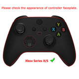 Chrome Green Replacement Buttons for Xbox Series S & Xbox Series X Controller, LB RB LT RT Bumpers Triggers D-pad ABXY Start Back Sync Share Keys for Xbox Series X/S Controller  - JX3206