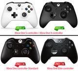 Soft Anti-slip Silicone Case Cover Thumb Stick Grip Caps Protector Skins for Microsoft Xbox One X & One S Controller Semi-transparent Clear-XBOWP0007GC