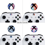 60 pcs Home Button Power Switch Stickers Skin Cover for Xbox One / One S /Xbox One X Console Kinect and Xbox One / One S / Xbox One X/Elite Controllers - XBLS001