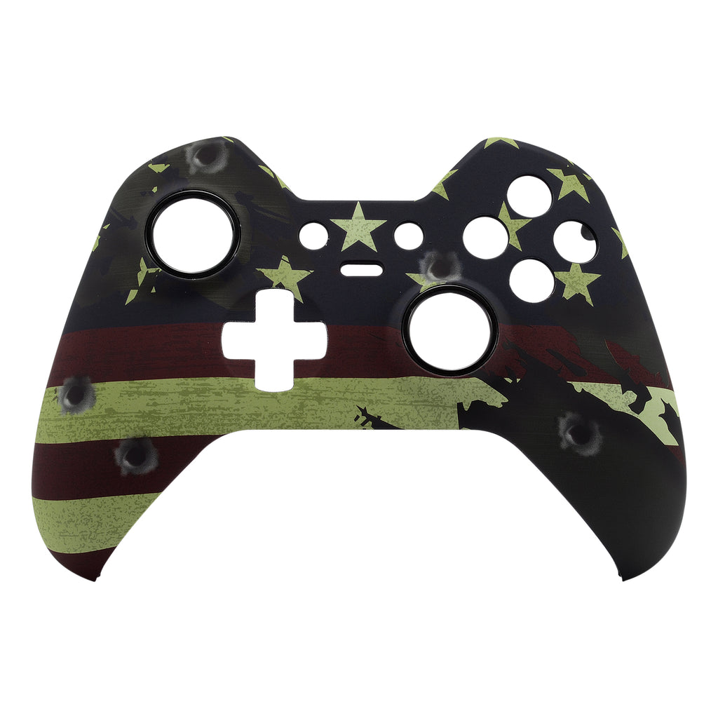 US Flag Front Shell Faceplates Cover Repair Parts for Xbox One Elite  Controller - XOET007