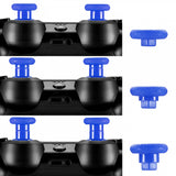 Blue Removable Thumbstick Joystick Plastic Bottom for Xbox One for PS4 Controller - XOJ0128