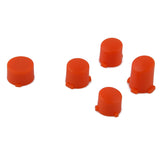 Matted Solid Orange  A B X Y + Guide Buttons Parts For Microsoft Xbox One Controller Shell - XOJ0202