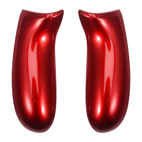Polished Gloss Red Housing Panel Side Rails Handles Repair for Xbox One Controller - XOJ1103