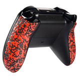 Textured Red Housing Panel Side Rails for Xbox One Controller - XOJ1110