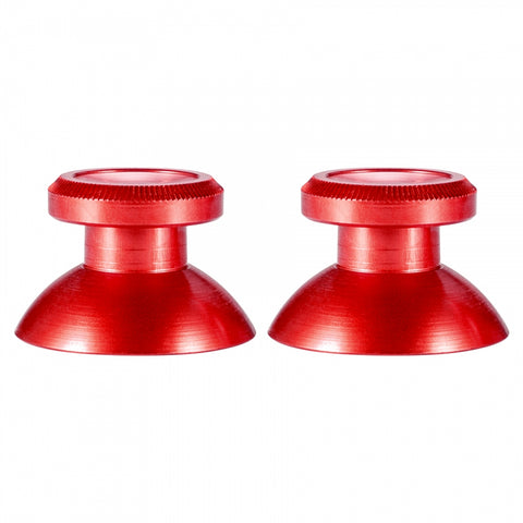 Custom Metal  Red Thumbsticks Thumb Sticks Controller Analogue for Xbox One PS4 Gold - XOJ1403