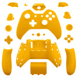 Matte Yellow Full Shell with Buttons Custom Kits for Xbox One Controller - XOM07