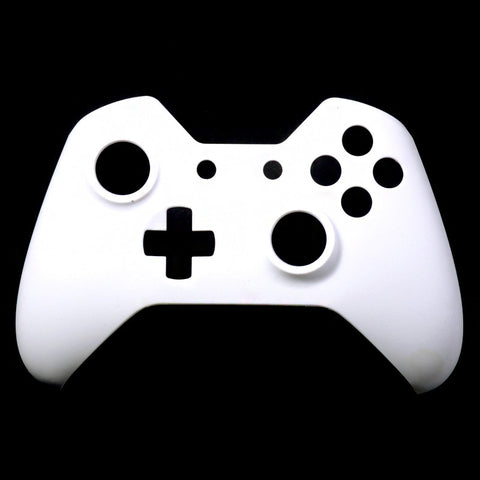 Solid White Face Plate Front Shell Custom Kits for Xbox One Controller - XOMF065