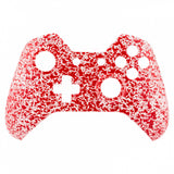 Anti Slip Red Drops Face Plate Front Shell Custom Kits for Xbox One Controller - XOMF068
