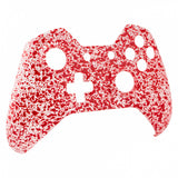 Anti Slip Red Drops Face Plate Front Shell Mod Kits for Xbox One Controller - XOMF068