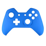 Soft Touch Navy Blue Face Plate Front Shell Custom Kits for Xbox One Controller - XOMSF02