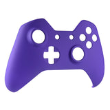 Soft Touch Purple Face Plate Front Shell Custom Kits for Xbox One Controller - XOMSF04
