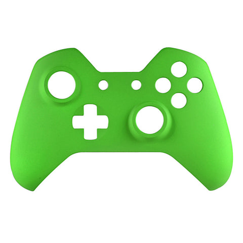 Soft Touch Green Face Plate Front Shell Custom Kits for Xbox One Controller - XOMSF05